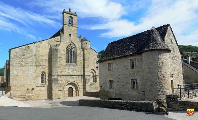 Le Monastier Eglise & maison du prieur©JP_Peytavin (reduit)