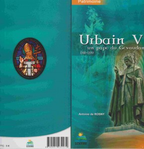 Urbain V, un pape du Gévaudan 1 livres