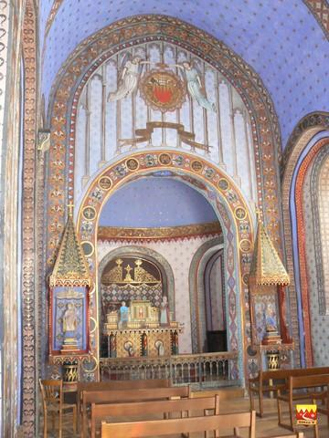 La chapelle Saint Saturnin est l'ancienne églisede Bédoués