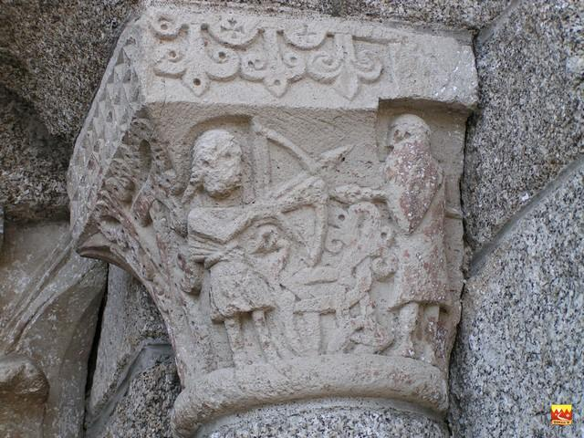 détail poxche église Nasbinals