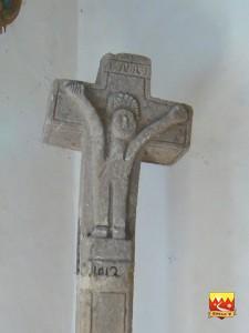 BédouésCroix de l'église
