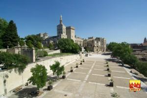 Le Palais des Papes - Chemin Urbain V - Avignon