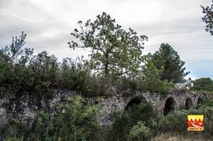 Vestiges-Romains,_Vers Pont-du-Gard, Chemin Urbain V, Gard