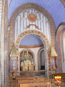 St Saturnin lieu de Baptême d'Urbain V
